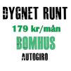 BOMHUS - 12-mån Gymkort Bomhus (autogiro)