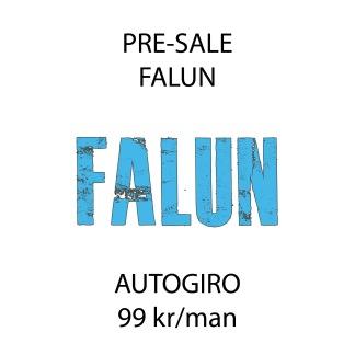 PRE-SALE FALUN C - Autogiro - Pre-sale Falun C 99kr/mån