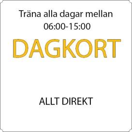 Dagkort - Allt direkt
