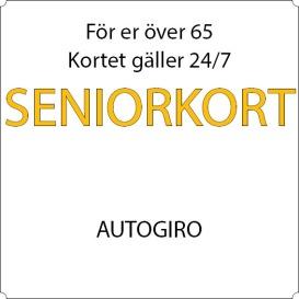 Pensionär - Autogiro