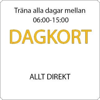 Dagkort - Allt direkt - 12-mån Söderhamn, Allkortet