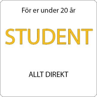Student - Allt direkt - 12-mån Sandviken, Allkortet