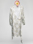 Malaga Dress - Chinese Flower, Grey - Size 3