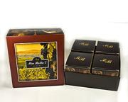 Wine Line - 4-pack i presentbox