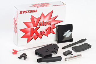 Systema PTW CQBR Value Kit 1 (Included Ambidextrouse Gear Box) - Systema PTW CQBR Value Kit 1 (Included Ambidextrouse Gear Box) - Upgrade Kit (M130 Cylinder)