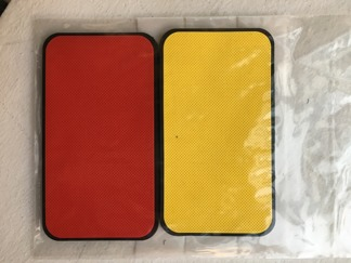 Team Patch Red/Yellow package -
