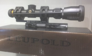 Leupold 1.5-5x20 ink. scope mount
