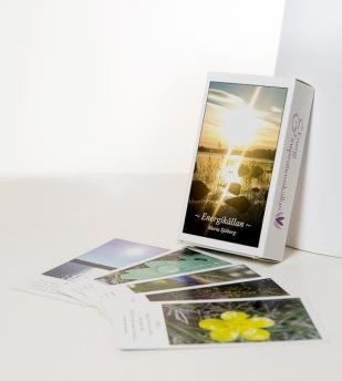 Inspirationskortlekarna Energikällan och Naturens Språk -