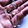 Halsband Ängel i plexiglas