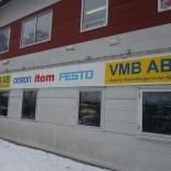 Fasadskylt VMB AB