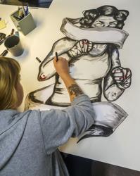 Konsten i samhället/Projekt -& idégestaltning vänder sig till  dig som vill utveckla din egen konst i form av egna projekt!