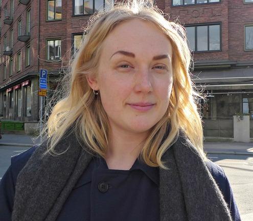 Josefin Lindeberg, f d Konsten i samhället student