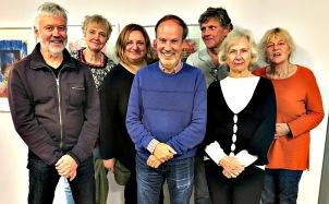 Lars Gustafsson, Cecilia Arcini, Mirella Pejcic, Gunnar Westerling, Göran Byhlin (personalrepresentant), Birgitta Nesterud, Anna Nelsson.
