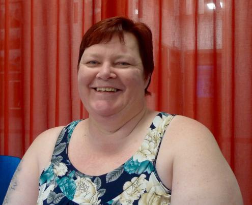 Sari Martinsson går allmän kurs Litsam, hon föll pladask för skolan på första studiebesöket.
