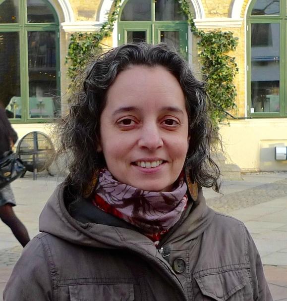 Adriana Aires Rastén på Angereds Författarskola