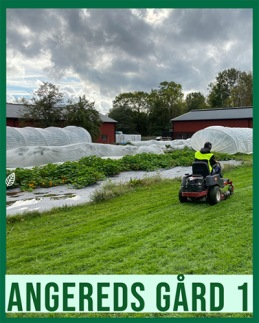 Allmän kurs yrkesinriktning utemiljökurs på Angereds gård 1.