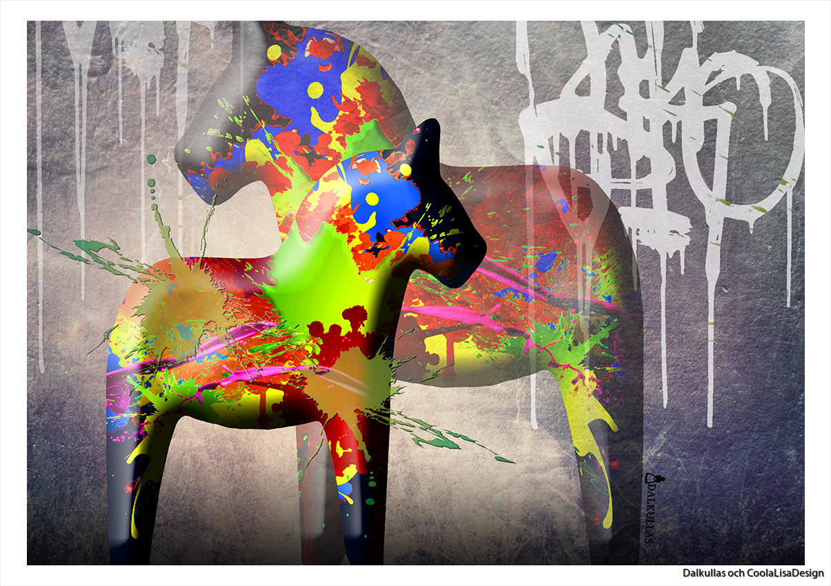 dalahäst graffiti2