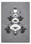 Kurbits i gråvita nyanser - 70 x 100 cm