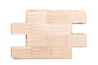 Väggpanel Björk Wide - Brick XL