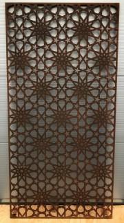 Mönster ALHAMBRA - Corten Rost 1800*900*2mm