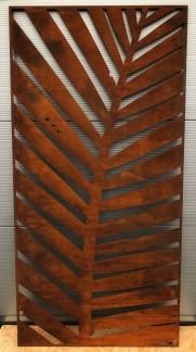 Mönster ATHERTON - Corten Rost 1800*900*2mm