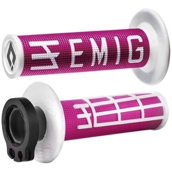 EMIG Lock on grepp - Tvåtakt Rosa/vit