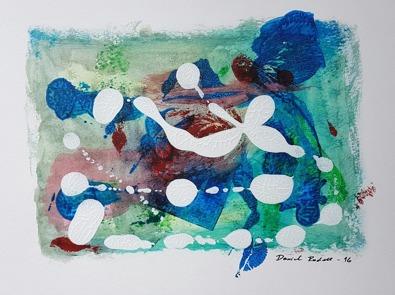 Acrylic on paper. 32 cm x 24 cm.
