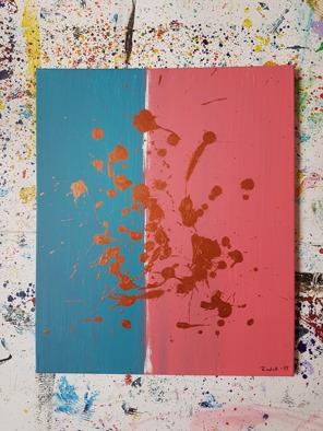 Acrylic on canvas. 55cm x 46cm x 1 cm.