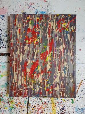 Acrylic on canvas. 50cm x 40cm x 4 cm.