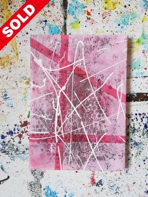 Acrylic on canvas. 33 cm x 24 cm x 1 cm.