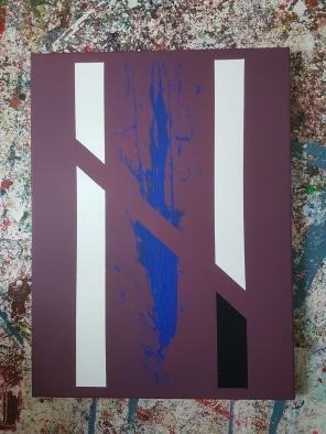 Acrylic on canvas. 80 cm x 60 cm x 4 cm.
