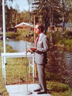 HM Carl XVI Gustaf invigningstalar vid Kälarne försöksstation år 1983