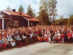Många intresserade samlade till invigning i augusti 1983