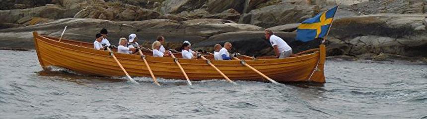 Das Ruderboot Hulda
