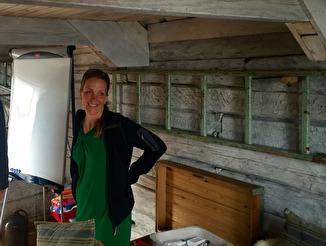 Milla im Bootshaus