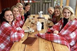 Warme Decken, wenn es kalt ist