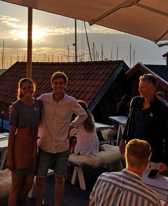 Duktiga medarbetare från Lund på besök