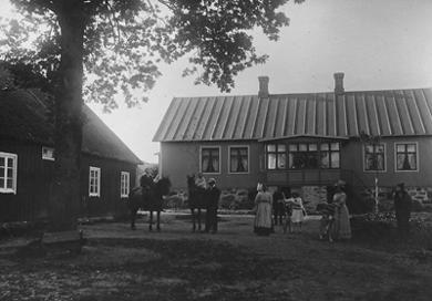 Åkagårdens Lodge i början på 1900-talet