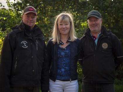 Henrik Åvall, Cia Pettersson och Magnus Åvall