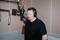 Gunnar - Sveriges Radios Studio Sundsvall 2001.