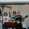 Mikael, Peter, Patrick - Sveriges Radios Studio Sundsvall 2001.