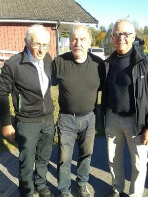 Fr. v Birger Lingmerth, Gert Vestelind, Lars Samuelsson