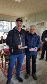 Vinnare: Peter Nordwall och Birger Lingmerth