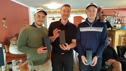 Vinnare: Jakob Richardsson, Morgan Axedén, Pär Richardsson