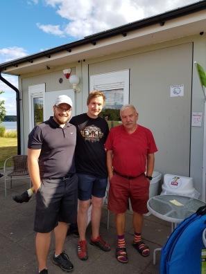 Tredje plats: Filip,Max och Gert Vestelind