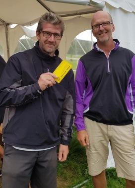 5:e plats: Niklas Vilhelmsson och Bertil Johansson