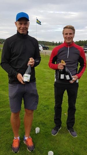 Dagen 1:a plats: Henrik Jonsson och Oskar Alvarsson