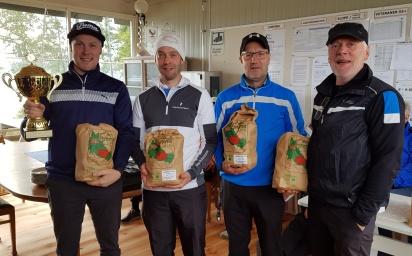 Vinnare: Team Fröset: Pär Richardsson,Claes Eriksson,Jörgen Hugosson och Håkan Richardsson