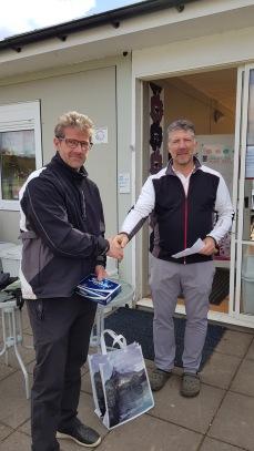2:a plats: Niklas Vilhelmsson och Bjarne Petersson