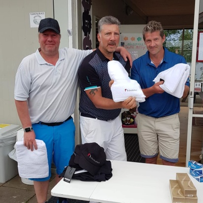 3:e plats: Magnus Henriksson, Bjarne Petersson, Niklas Vilhelmsson